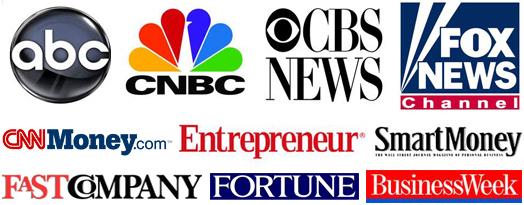 Media logos cover