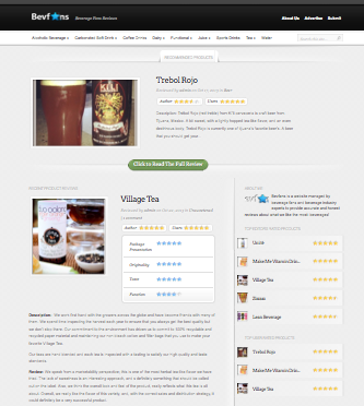 BevFans.Com beverage review website