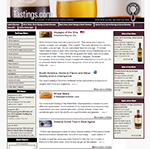 Beverage Review Website: Tastings.Com