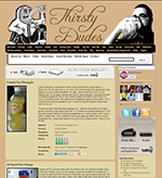 Beverage Review Website: ThirstyDudes.Com